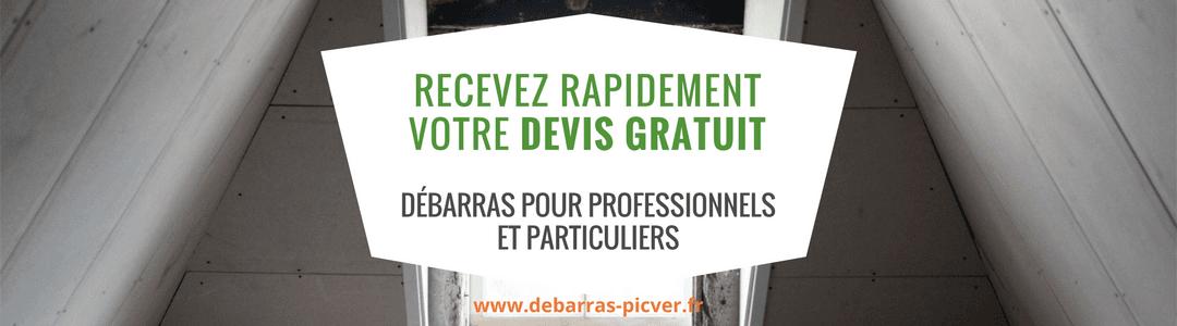 Débarras Picver_Débarras pour professionnels et particuliers Paris IDF