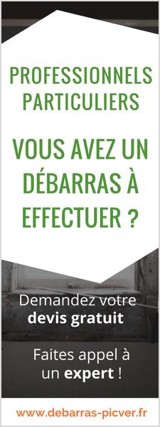 Débarras Picver_débarras pour professionnels et particuliers paris ile de france